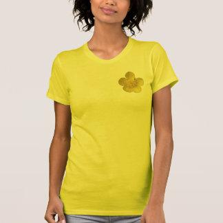 Botão de ouro camiseta