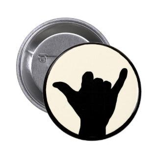 Botão de Shaka Bóton Redondo 5.08cm