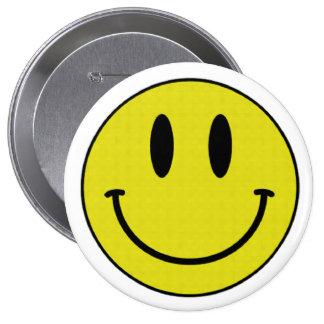 Botão de sorriso bóton redondo 10.16cm