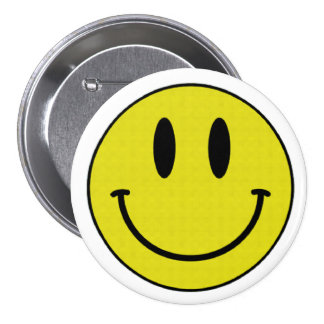 Botão de sorriso bóton redondo 7.62cm