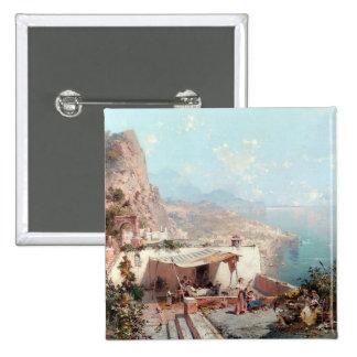Botão do Amalfi de Unterberger Bóton Quadrado 5.08cm