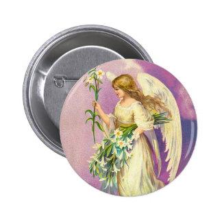 Botão do anjo da páscoa do Victorian Pins