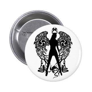 Botão do anjo da serpente bóton redondo 5.08cm