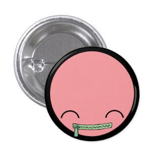 Botão do bebê do sorriso bóton redondo 2.54cm