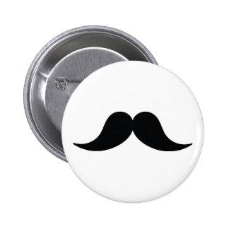 Botão do bigode bóton redondo 5.08cm