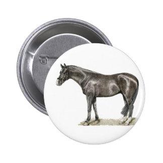 Botão do cavalo bóton redondo 5.08cm