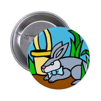 Botão do coelhinho da Páscoa Bóton Redondo 5.08cm