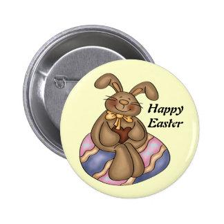 Botão do coelhinho da Páscoa do chocolate Boton