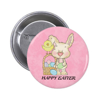 Botão do coelho de felz pascoa botons
