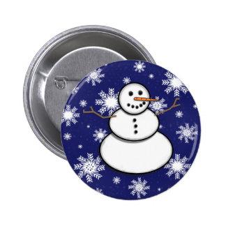 Botão do dom do boneco de neve boton