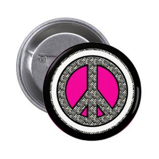 Botão do dom do sinal de paz botons