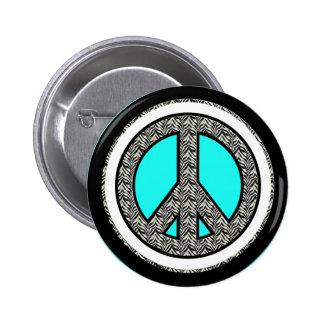 Botão do dom do sinal de paz pins