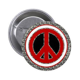 Botão do dom do sinal de paz boton