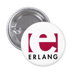 Botão do Erlang Bóton Redondo 2.54cm