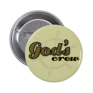 Botão do grupo do deus bóton redondo 5.08cm