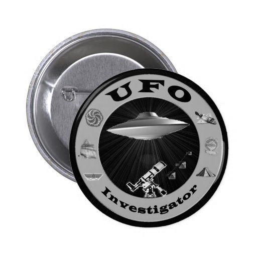 Botão do investigador do UFO Botons