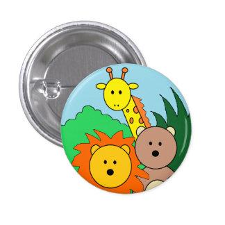"Botão do ""jardim zoológico"" pins"