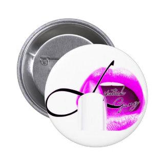 botão do #lipstickgang bóton redondo 5.08cm