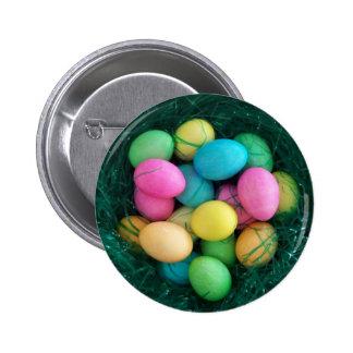 Botão do ninho do ovo da páscoa botons