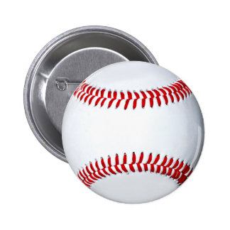 Botão do presente do basebol bóton redondo 5.08cm