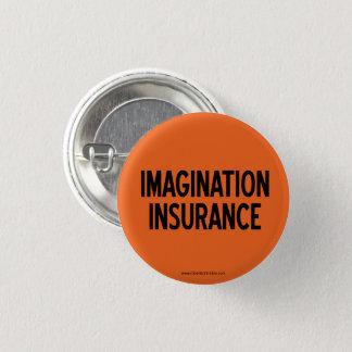Botão do seguro da imaginação X-Pequeno Bóton Redondo 2.54cm