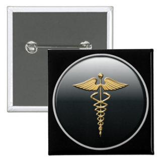 Botão do símbolo do médico botons