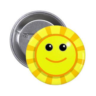 Botão do SMILEY Bóton Redondo 5.08cm