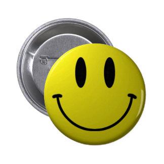 Botão do smiley face bóton redondo 5.08cm