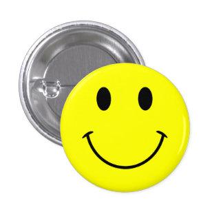 Botão do smiley face bóton redondo 2.54cm