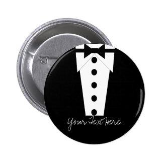 Botão do smoking bóton redondo 5.08cm