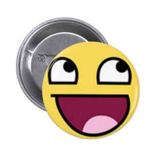 Botão do sorriso bóton redondo 5.08cm