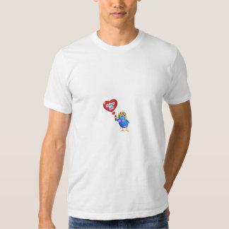 Botão do Twitter Tshirt