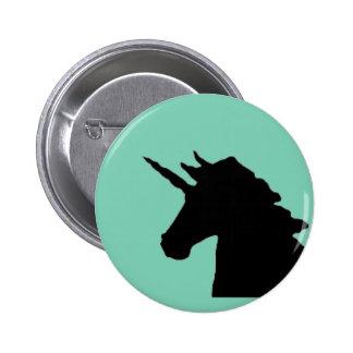 botão do unicórnio bóton redondo 5.08cm