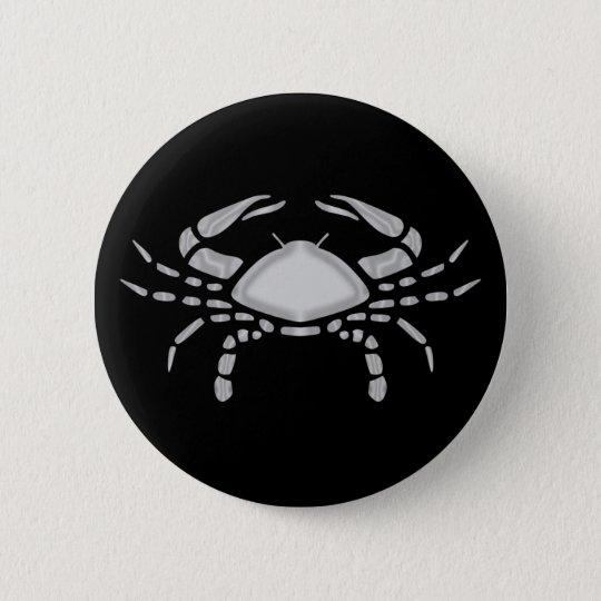 Botão do zodíaco do caranguejo do cancer bóton redondo 5.08cm