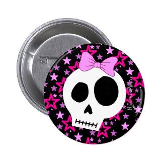 Botão estrelado do punk pins