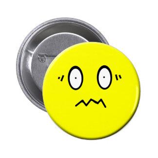 Botão forçado do smiley bóton redondo 5.08cm