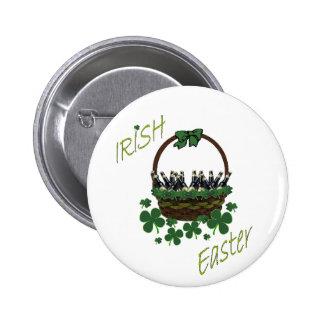 Botão irlandês da páscoa bóton redondo 5.08cm