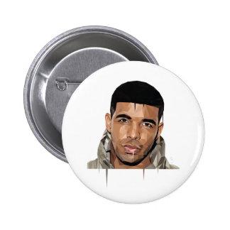 """Botão MED-Poli de Drake poligonal"" Bóton Redondo 5.08cm"