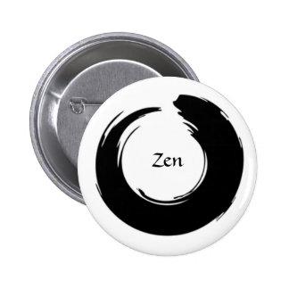 Botão preto do zen boton