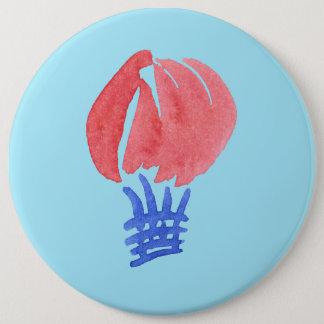 Botão redondo colossal do balão de ar bóton redondo 15.24cm