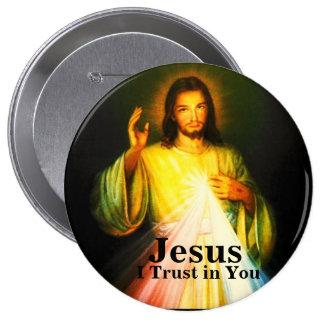 Botão redondo da evangelização de DWMoM grande Bóton Redondo 10.16cm