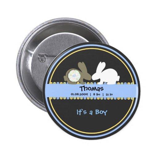 Botão redondo do anúncio do nascimento do amor do  botons