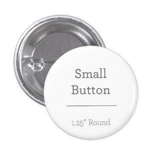 Botão redondo feito sob encomenda bóton redondo 2.54cm