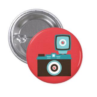 Botão retro do dom da câmera do brinquedo (Brown/a Botons