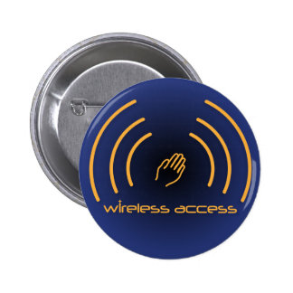 Botão sem fio do cristão do acesso bóton redondo 5.08cm