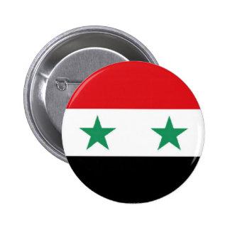 Botão sírio da bandeira boton