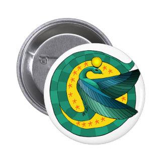 Botão voado egípcio da serpente botons
