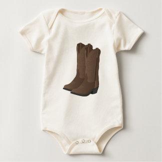 Botas de vaqueiro body para bebê