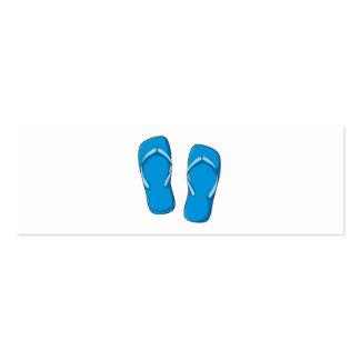 Botões azuis feitos sob encomenda das bolsas das cartao de visita
