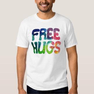 Botões de conexão do amor tshirts